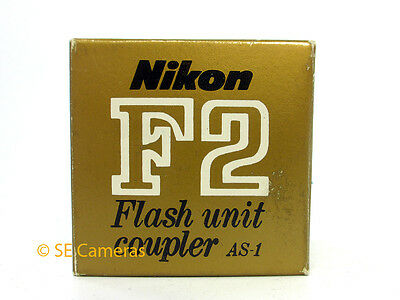 Genuine Nikon F2 Flash Unit Coupler As-1 *bnib*