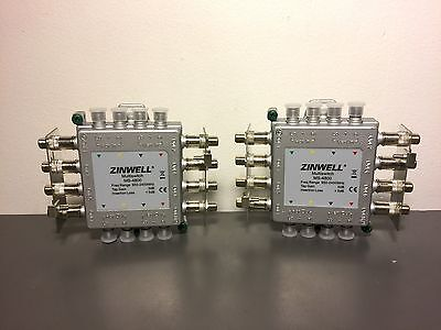 2x Zinwell Multiswitch MS-4800