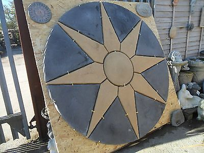 Arctic Star Circle Patio Slabs - 1.8m