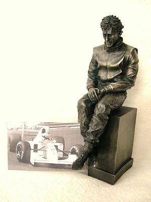 Ayrton Senna Racecourse Statue Formula 1 F1 Racing Homage Figure Limited Edition