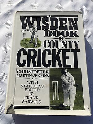 "1981 ""the Wisden Book Of County Cricket"" Hardback Book (W)"