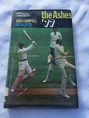 "1977 ""the Ashes '77"" Cricket Illustrated Hardback Book (W)"
