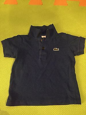 Baby Boys Lacoste Polo T-shirt Size 1