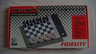 Fidelity Chess Mate Electronic Chess Computer  6136