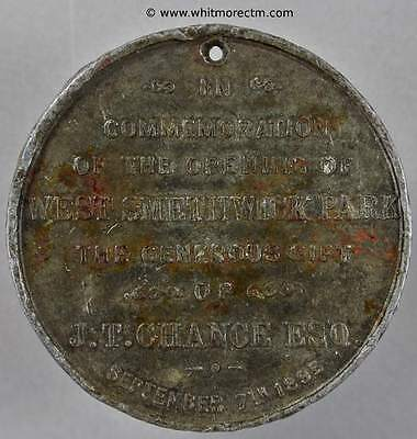 Opening of West Smethwick Park Medal 1895 45mm B3493  - Q8239