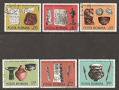 ROMANIA 1976 Archaeological Findings  used