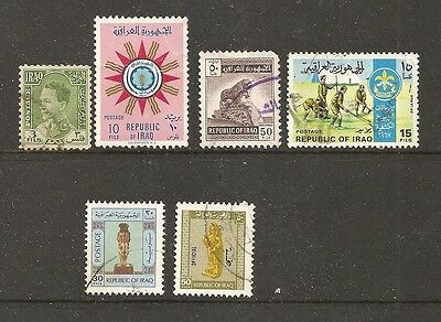Iraq stamps - used