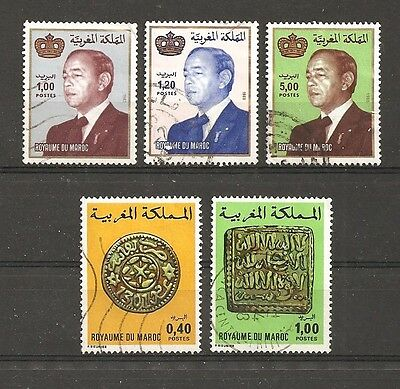 Kingdom of Morocco  stamps - used
