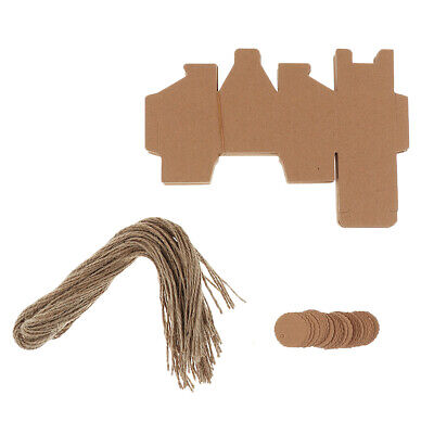 Lot of 50pcs Paper Candy Gift Boxes Wedding Party Favors 6 Styles