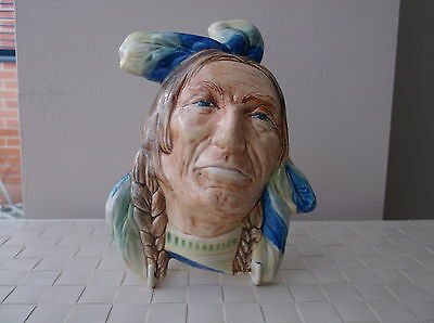 Beswick Vintage Red Indian Wall Plaque