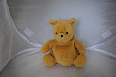 Classic pooh bear beahie soft toy by gund