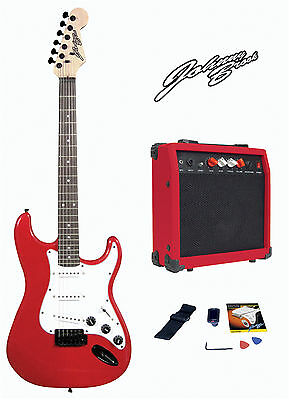 Johnny Brook Guitar Kit with 20W Amplifier - Red
