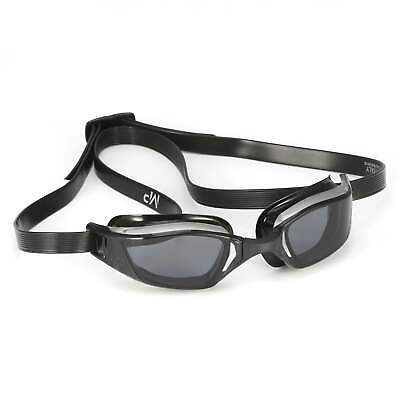 Michael Phelps Xceed Competition Racing Goggles: Grey/Black with Smoke Lens
