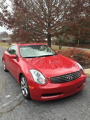 2004 Infiniti G35  2004 INFINITY G35 lOW MILES LOOKS AND SMELLS NEW