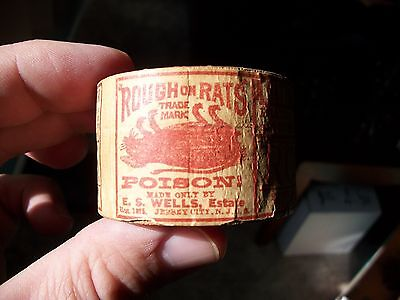 Rough On Rats Unopened Rat Poison Wooden Box And Full Labels