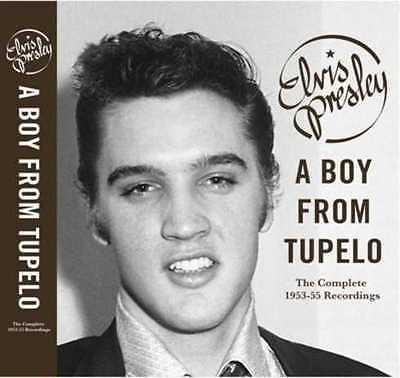 Elvis Presley; Sun Records, A Boy from Tupelo (Book + 3 CD's)