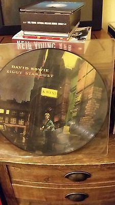 David Bowie  Picture Disc Ziggy Stardust SF 8287-P NEW, UNPLAYED