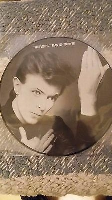 David Bowie  Picture Disc Heroes  NEW, UNPLAYED