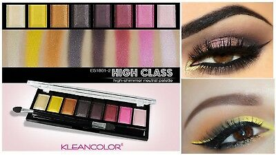 8 NEW Eye shadow Color Makeup PRO GLITTER Eyeshadow PALETTE