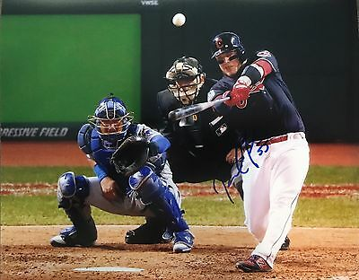 Roberto Perez Signed Autographed Cleveland Indians 8x10 Photo World Series Rare