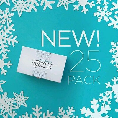 New Instantly Ageless 25 Sachets by Jeunesse US Authentic 2 boxes/50 Sachets
