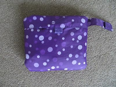 Girls Purple Raincoat (pac-a-mac) age 1-1.5 years