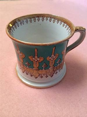 Vintage Pottery Shaving Mug 3.25 Inches Tall