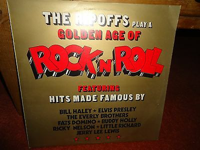 The Ripoffs Play A Golden Age Of Rock And Roll LP