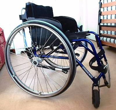 Panthera S2 light manual rigid frame wheelchair for active user Seat 42 cm