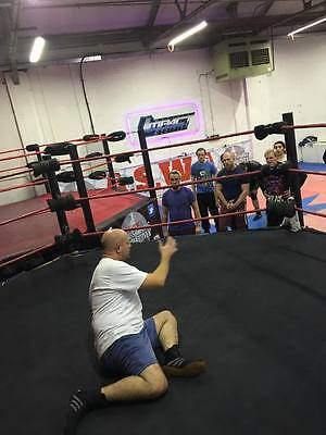 18 Foot sprung 6 Sided Pro Wrestling Ring