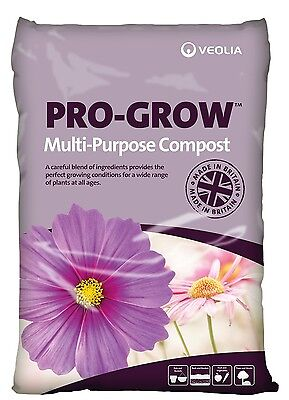 Pro-Grow MULTI-PORPOSE COMPOST, certified PEAT-FREE, Organic based nutrients