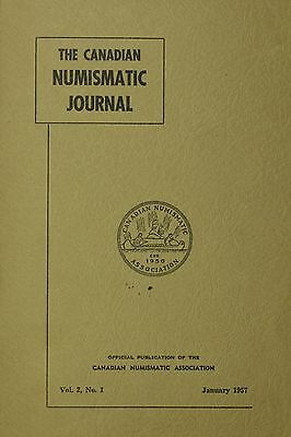 The Canadian Numismatic Journal January 1957 Vol. 2, No.1 {DO410}