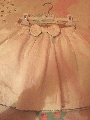 Girls Stunning Designer Christmas / Wedding  Outfit Size Age 7 Yrs Worn Once