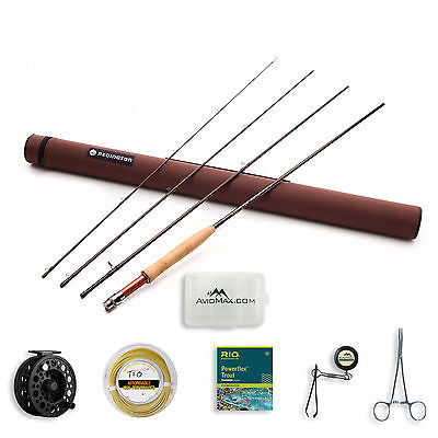 Redington Classic Trout Fly Rod and Crosswater Reel Outfit with Rod Case