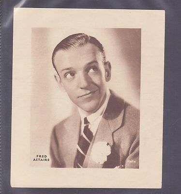Film Stars 1930s Insert 166x138mm issued by DC Thomson features Fred Astair