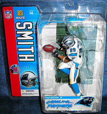 MCFARLANE NFL SERIES 14 STEVE SMITH Figur CAROLINA PANTHERS ROOKIE DEBUT