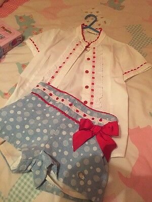 Girls Dolce Petit Designer IChristmas / Size Age6- 7 Yrs Worn Once