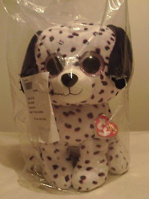 Ty Beanie Boo's Large Georgia the Dalmation Brand New WithTags