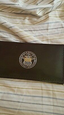 GOLD Leaf $2 Two Dollars uncirculated Bill World Reserve Monetary Exchange