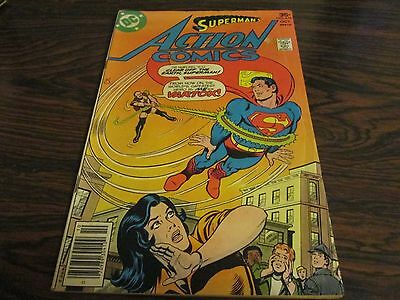 SUPERMAN DC  ACTION COMIC no 476 OCTOBER 1977     VERY GOOD CONDITION