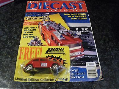 The Diecast Issue 1 Collector Magazine.
