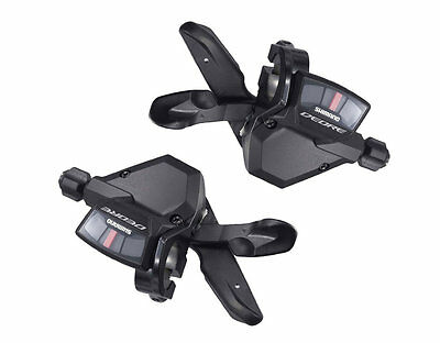 Shimano Deore Rapidfire Plus Shifter 3 x 9 Speed  - Pair Set