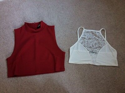Bundle Of 2 Size 14 Asos Crop Tops