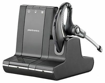 Plantronics W730 Black Ear-Hook Headsets