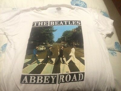 THE BEATLES Abbey Road T Shirt XL Extra Large *  Cotton