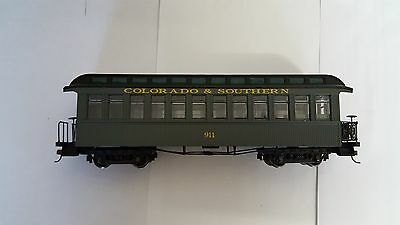 Bachmann Spectrum on 30 Observation Car Colarado and Southern