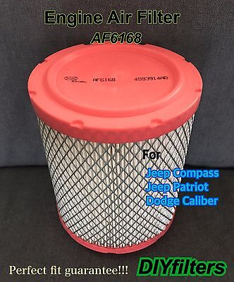 AF6168 Premium Engine Air Filter for DODGE Caliber 11-16 JEEP Compass & Patriot