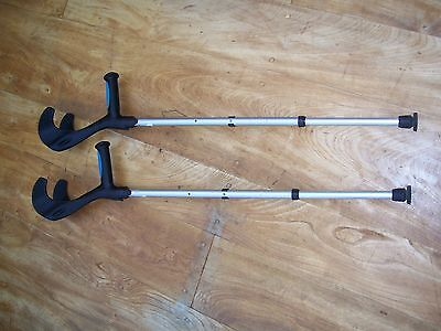 PAIR OF ELBOW CRUTCHES - new