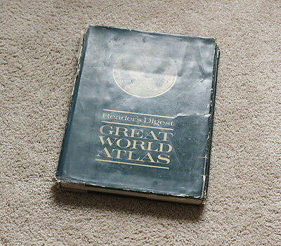 Readers Digest Great World Atlas 1969 3rd Edition