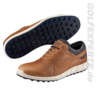 Puma Golf Hombre Zapatos De Golf Ignite Spikeless Chipmun Peacoat